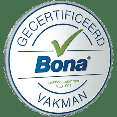 parket schuren Almere certificaat